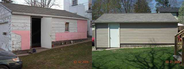 Garage Before / After