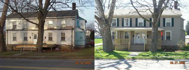 House Siding Before / After